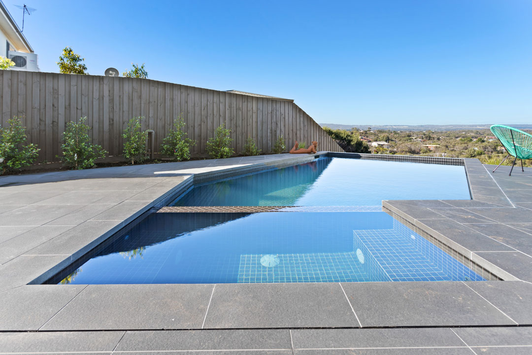 Poolscene solutions integrated spa