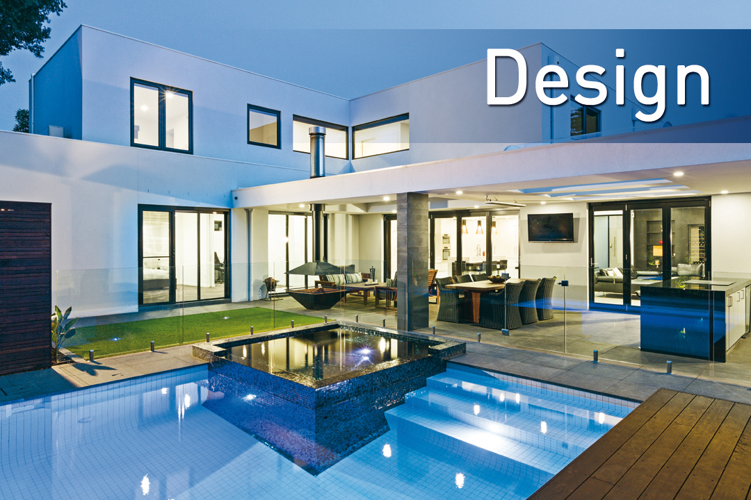 Outdoor home pool  Home - Melbourne Pool and Outdoor Design