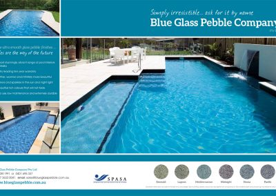 Blue Glass Pebble Company
