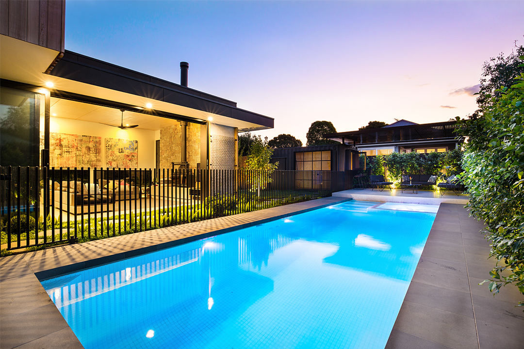Best Concrete Pool by a NEW SPASA Builder Member – Highly Commended