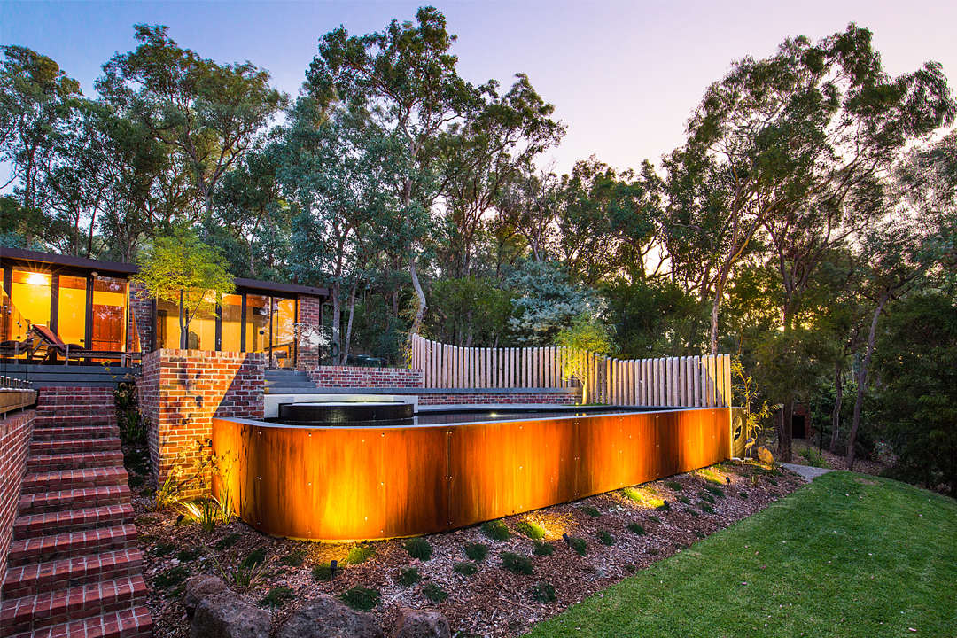 Best Landscape Design – under 60m2 featuring a Pool or Spa – Gold