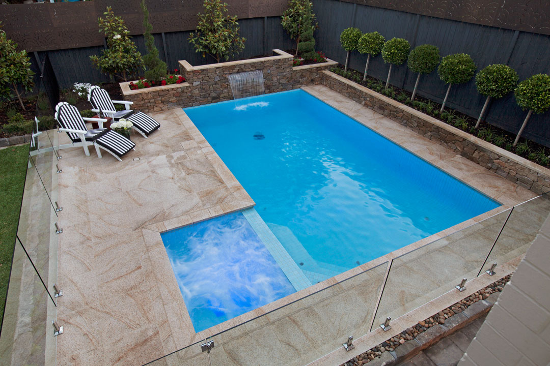 Falcon Pools Amp Landscapes Project 7 Melbourne Pool And