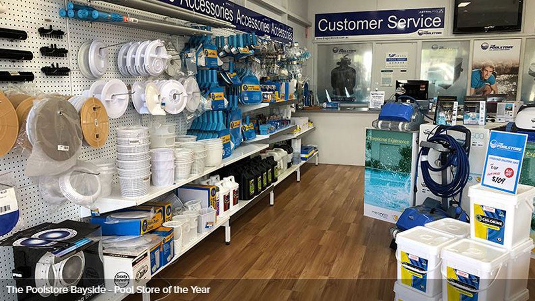 POOL STORE OF THE YEAR - The PoolStore Bayside