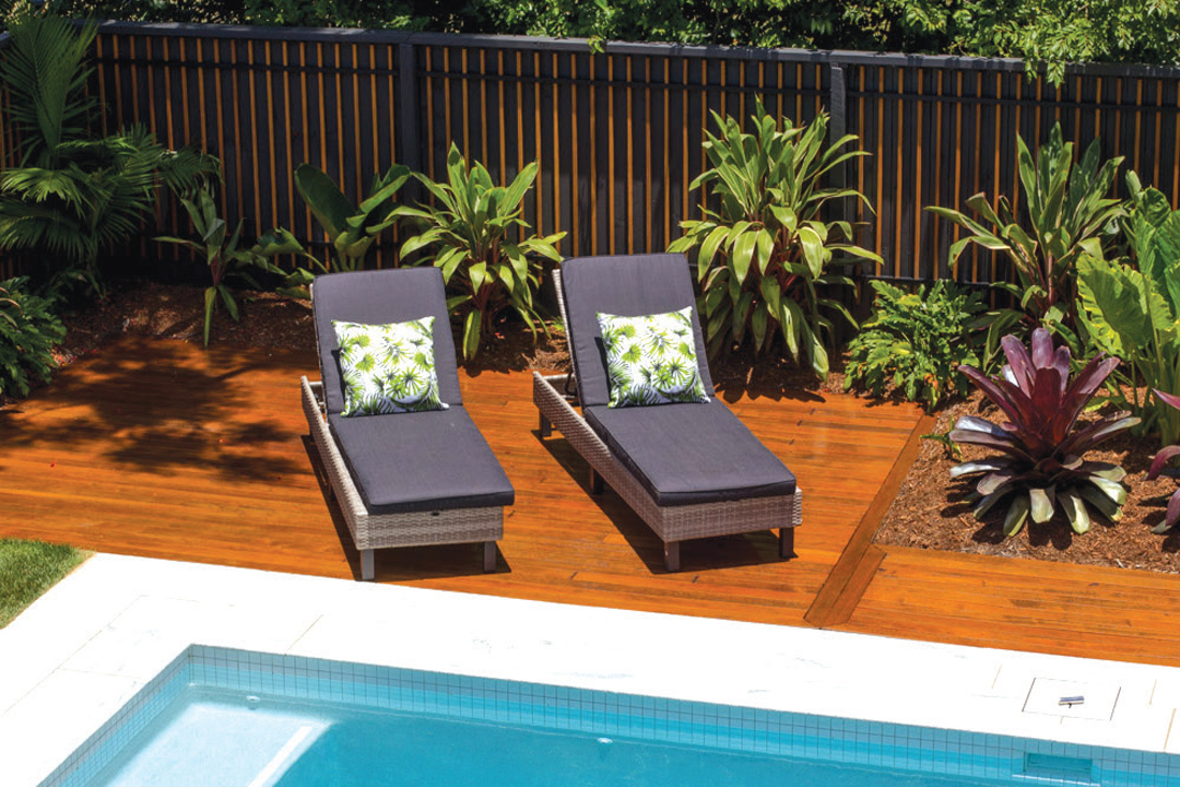 Bamboo Pool Fencing